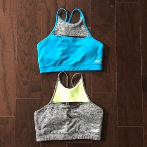 Bundle of Hollister Sport Bras Size Small